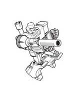 Transformers da colorare 75