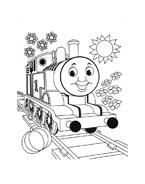 Trenino-thomas da colorare 21