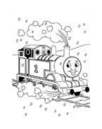 Trenino-thomas da colorare 23