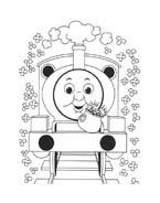 Trenino-thomas da colorare 28