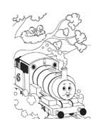 Trenino-thomas da colorare 32
