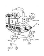 Trenino-thomas da colorare 34