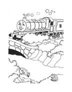 Trenino-thomas da colorare 37