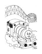 Trenino-thomas da colorare 42