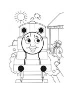 Trenino-thomas da colorare 44