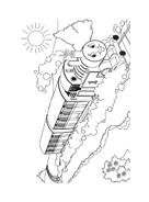Trenino-thomas da colorare 45
