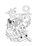 Trenino-thomas da colorare 48