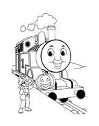 Trenino-thomas da colorare 52