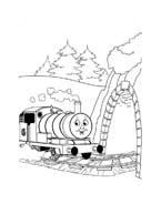 Trenino-thomas da colorare 62