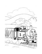 Trenino-thomas da colorare 63