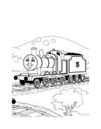 Trenino-thomas da colorare 64