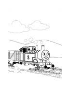 Trenino-thomas da colorare 67