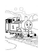 Trenino-thomas da colorare 69