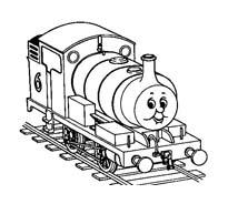Treno da colorare 8