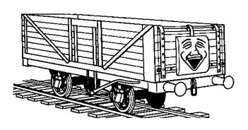 Treno da colorare 9