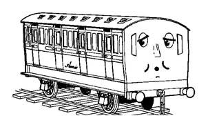 Treno da colorare 11