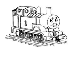 Treno da colorare 12