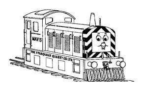 Treno da colorare 13