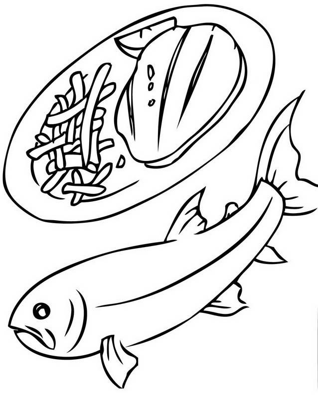 Pesce da colorare 244