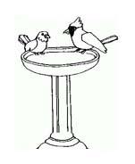 Uccello da colorare 274