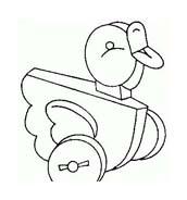 Uccello da colorare 278