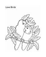 Uccello da colorare 353