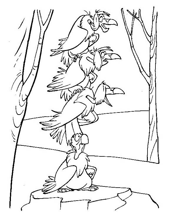 Uccello da colorare 366