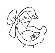 Uccello da colorare 371