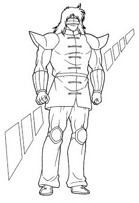 Ultimate muscle da colorare