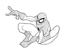 Spiderman da colorare 168