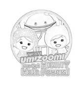 Team Umizoomi da colorare 7