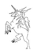 Unicorno da colorare 7