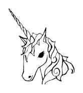 Unicorno da colorare 8
