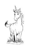 Unicorno da colorare 9