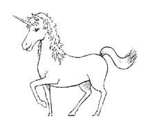 Unicorno da colorare 10