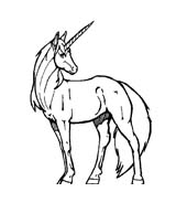 Unicorno da colorare 11