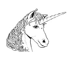 Unicorno da colorare 12