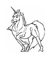 Unicorno da colorare 17
