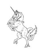 Unicorno da colorare 19