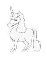 Unicorno da colorare 21