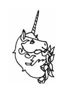 Unicorno da colorare 26