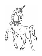 Unicorno da colorare 28
