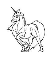 Unicorno da colorare 34