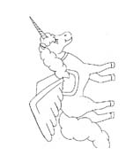 Unicorno da colorare 37