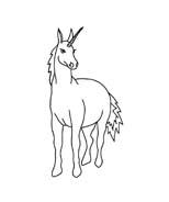 Unicorno da colorare 38