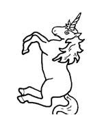 Unicorno da colorare 39