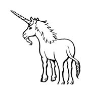 Unicorno da colorare 42