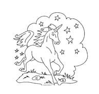 Unicorno da colorare 44
