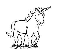 Unicorno da colorare 45