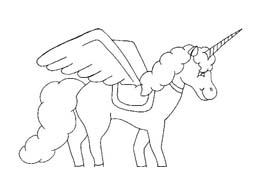 Unicorno da colorare 46